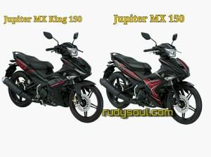 Ini dia perbedaan Jupiter MX King 150 dan Jupiter MX 150