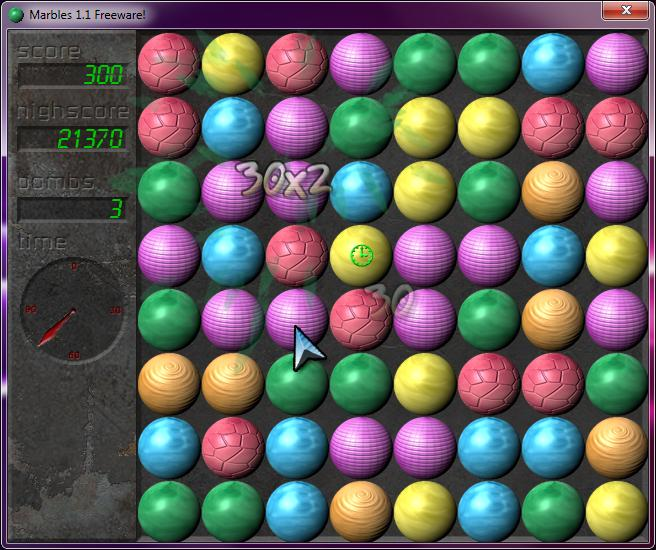 Marbles in-game