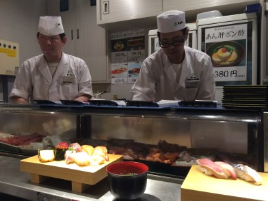 Most delicious Sushi in Ikebukuro station (waiting time: approx. 30 minutes)