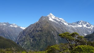 Key summit of the Routeburn track
