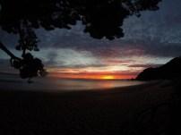 Sun set at Abel Tasman National Park