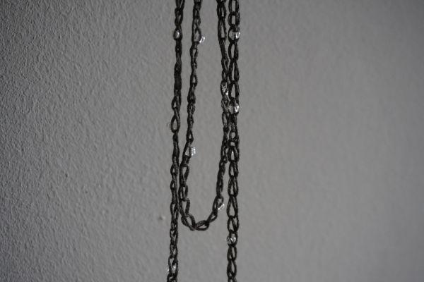 Collier crochet avec billes