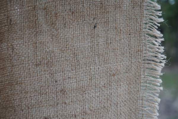 Rustic burlap for various projects