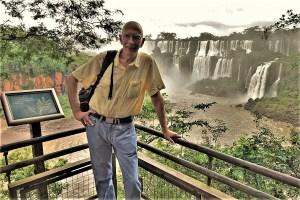Wer schreibt hier eigentlich? Rüdi in Iguazu/Brasilien 2019