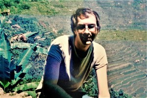Who is actually writing here? Ruedi in the rice terrasses Banaue/Philippines 1986