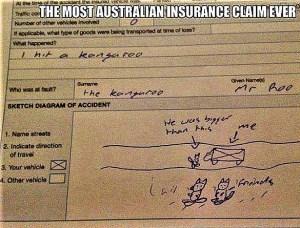 Australian insurance claim