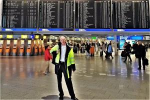 Departure in Frankfurt