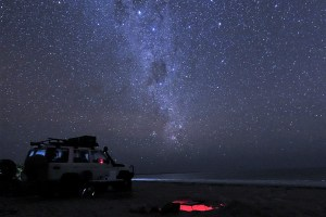 stars at the beach of bathurst head cape york