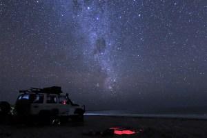 stars at the beach of bathurst head cape york
