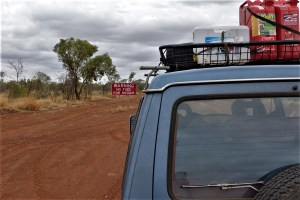 Auto im australischen Outback