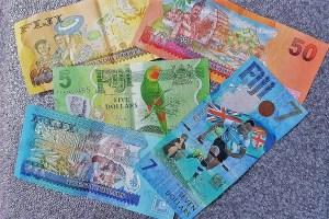7 Dollar Banknote Fidschi