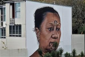 Wandmalerei Auckland