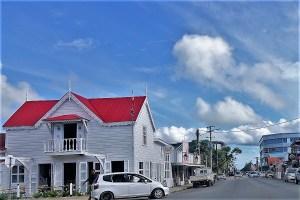 Straße in Nukuʻalofa Tonga