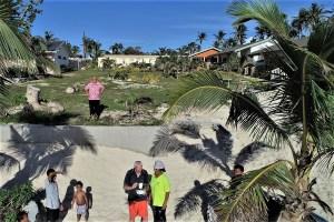 Hans-Jürgen Briest im Vakaloa Beach Resort Tonga