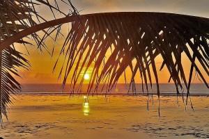 sunset on Tonga