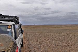 Car in Mongolia