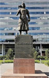Marco Polo Statue Ulaanbaatar