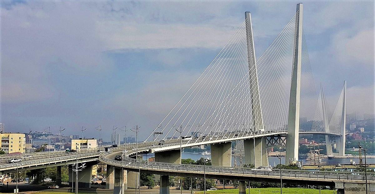 Zolotoy Brücke Wladiwostok