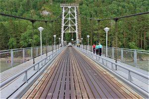 Bridge over the Katun