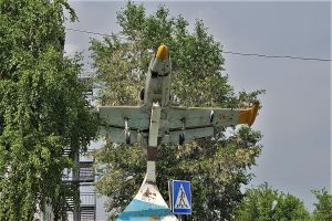 Monument in Barnaul