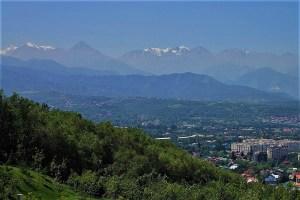 Tian-Shan Gebirge, Almaty