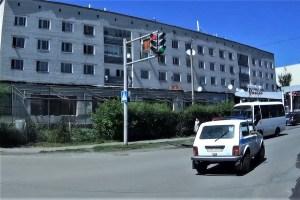 Police car Semei