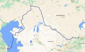 3.200 Kilometer durch die kasachische Steppe
