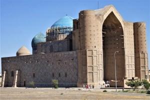 Türkistan, Mausoleum von Hodscha Ahmad Yasawi