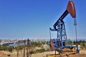 Ölpumpe in Baku