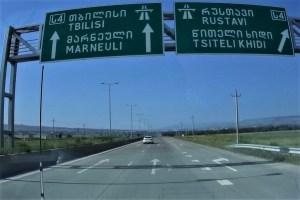 Fernstraße in Georgien