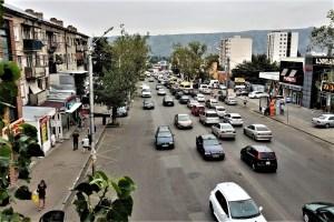 Straße in Tbilissi