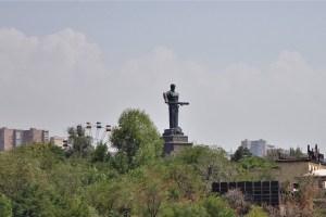 Mutter Armenien Statue im Siegespark Eriwan, Armenien