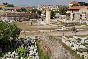 Römische Agora in Athen Griechenland