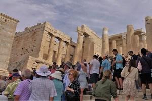 Eingang zur Akropolis Athen