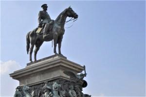 Reiterstatue Zar Alexander II. Sofia, Bulgarien / Equestrian Statue