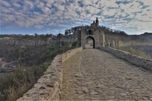 Eingang zur Festung, Weliko Tarnowo, Bulgarien