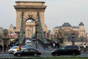 Kettenbrücke Budapest, Ungarn