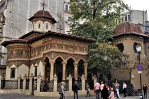 Stavropoleos Monastery in Bucharest