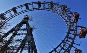 Giant Ferris Wheel in Prater Vienna, Austria