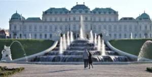 Belvedere Castle Vienna, Austria