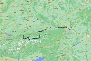 Meine Route durch Österreich
