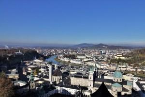 Blick von der Festung Hohensalzburg, Salzburg, Österreich