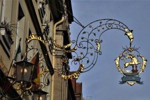 Zunftzeichen Rothenburg ob der Tauber, Deutschland