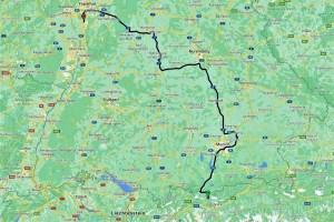 Meine Strecke durch Deutschland