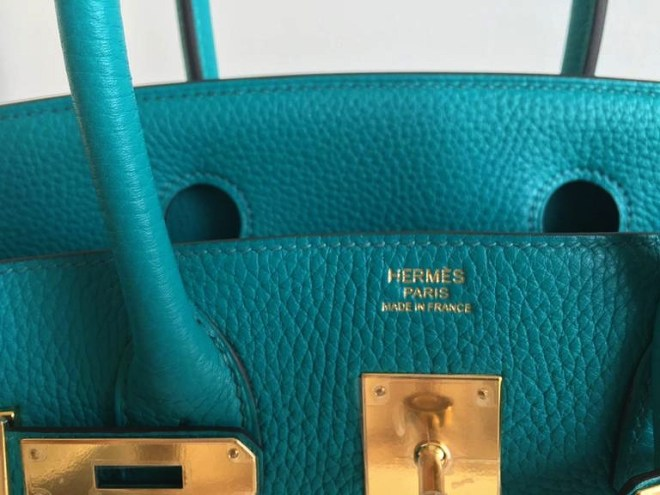 Hermes Blue Paon Clemence GHW.JPG
