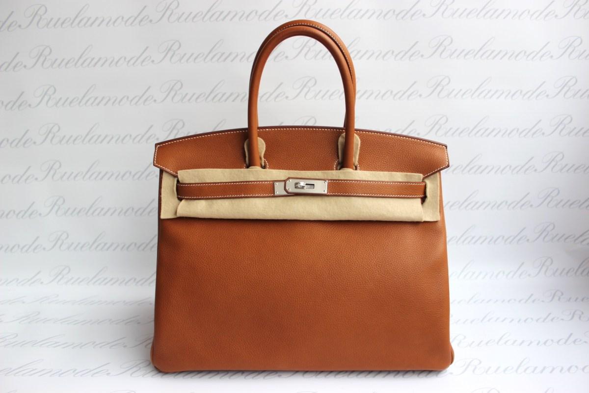 1ec164dc303 Brand new Hermes Birkin 35 Fauve Barenia Faubourg PHW SOLD – Ruelamode