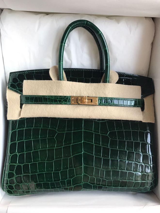Hermes Birkin 25 Vert fonce GHW.JPG
