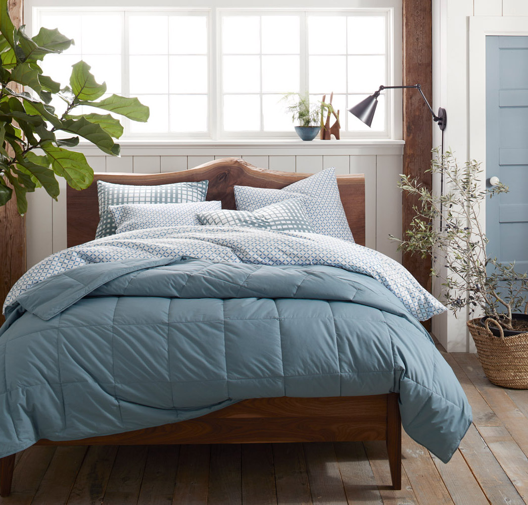 down linen and jersey knit these are our favorite cozy bedding updates rue