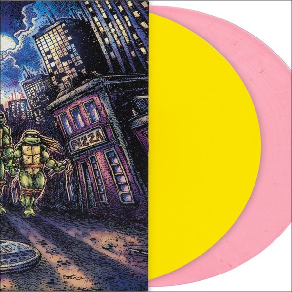Teenage Mutant Ninja Turtles - Soundtrack (April O'Neil Pink & Yellow Vinyl)