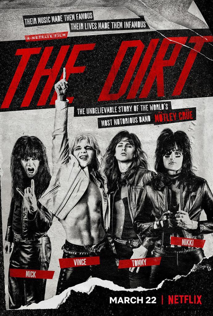 Mötley Crüe The Dirt On Netflix